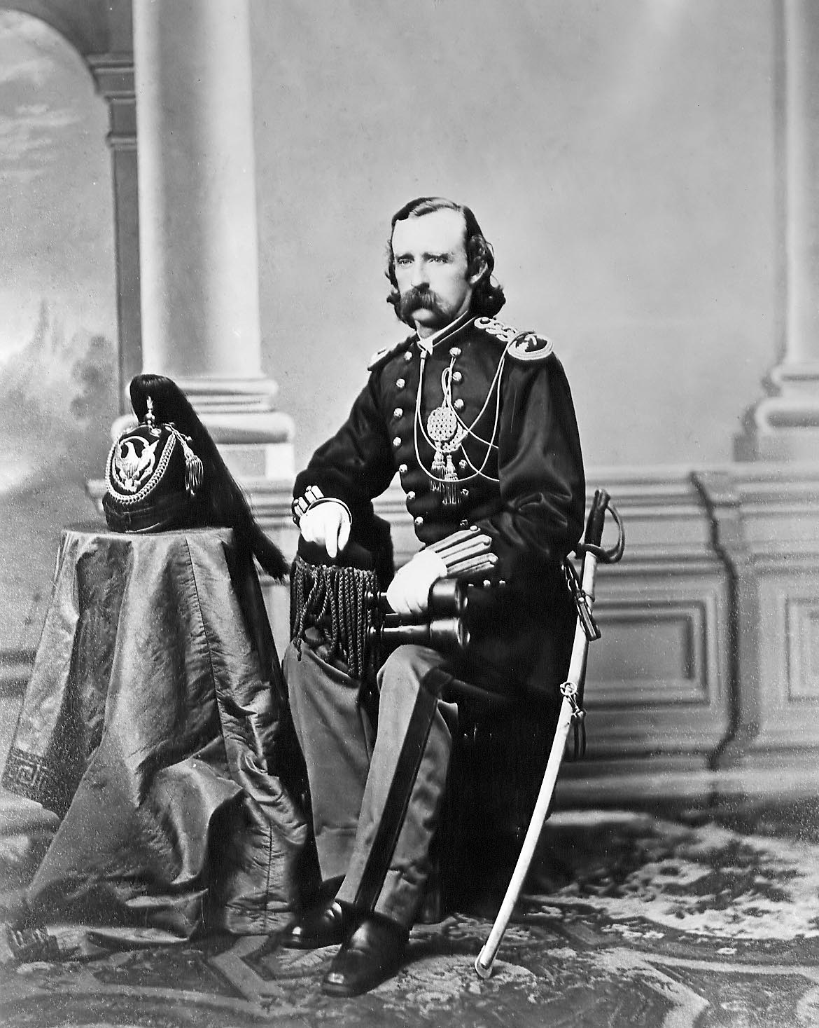 the role of george armstrong custer during the civil war George armstrong custer  with the outbreak of the civil war, custer was called to serve with the union army custer developed a strong reputation during the civil war.