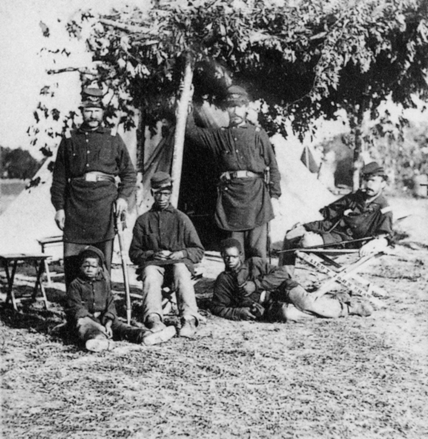 the black soldiers of the civil war African american civil war soldiers william matthews was so enthusiastic about the new first kansas colored volunteer infantry in 1862 that he was one of the first to volunteer.