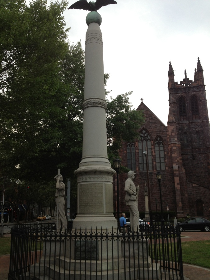 The Connecticut American Civil War Soldiers and Sailors Monument, New Haven, CT