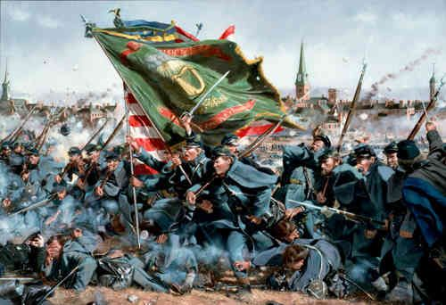 The Irish Brigade of the Army of the Potomac