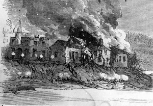 Bombardment of Fredericksburg.