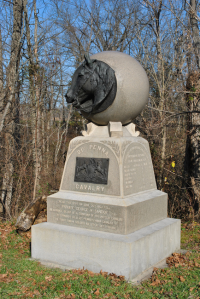 21st PA Monument (Picture from Stone Sentinals)