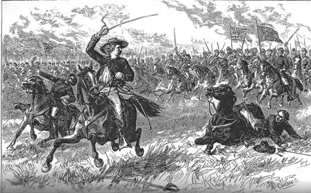 Custer at Aldie