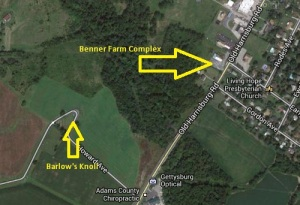 J Benner Farm Map