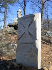 Vincent Marker, Gettysburg