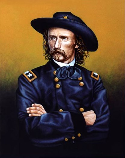 a biography of george armstrong custer an american civil war hero