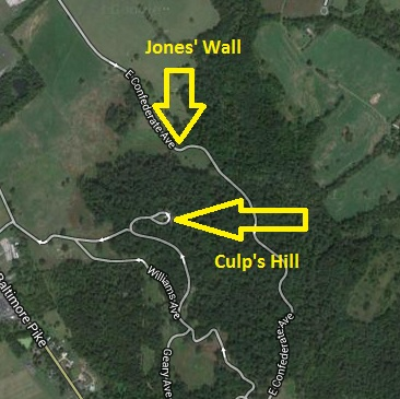 Jones Wall Map