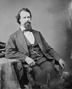 Charles Memorial Hamilton served in the U. S. Congress as a representative from Florida from July 1868 through March of 1871.