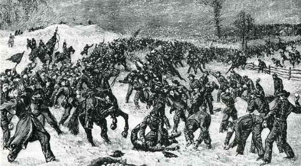 The Great Snowball Battle of 1863