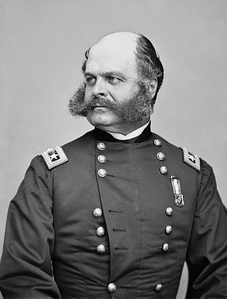 9th Corps commander Major General Ambrose E. Burnside