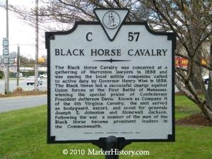 c-57 black horse cavalry