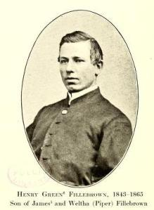 Corporal Henry G. Fillebrown, 4th Vermont