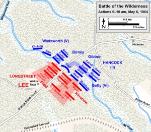 Longstreet's counterattack. Map created by Hal Jesperson. www. cwmaps.com