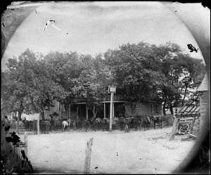 The Old Church Hotel. Courtesy of the Library of Congress.
