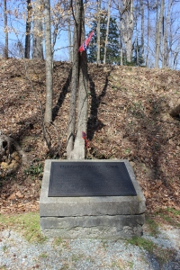 "Another of the ""Freeman Markers"" informing readers of the Battle of Totopotomoy Creek"