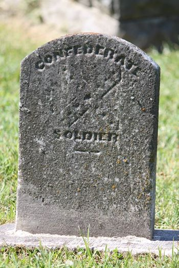 and another Confederate monument . . . same cemetery