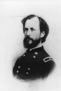 Brigadier General Manning Ferguson Force. He captured Bald Hill on July 21 and would have to fight tooth and nail to retain it on July 22. Library of Congress