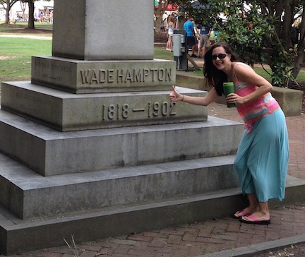 One of my wife's stipulations for doing any Civil War tourism on our honeymoon was that I had to relax a little.
