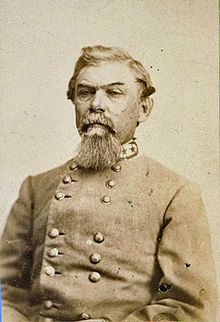 Lieutenant General William J. Hardee who was tasked with heading the Confederate response at Jonesborough