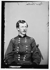 Nelson Miles was a Brig Gen. at Ream's Station and faced the brunt of the fighting. He is pictured here later in the war as a Maj. General. (Library of Congress)