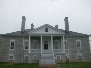 Belle Grove Mansion on the Cedar Creek battlefield.
