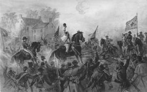Sheridan Rallying Troops