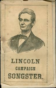 Lincoln_campaign_songster_Cover