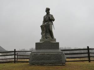 The 149th Pennsylvania Monument at Gettysburg.