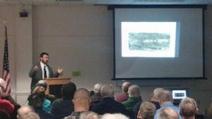 Dan speaking on the Battle of Bentonville, part of Sherman's Carolinas Campaign