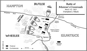 Battle of Monroe's Crossroads.