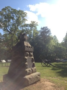 The John Sedgwick monument on May 9, 2015 (cm)
