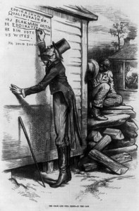 Black Codes, early forms of Jim Crow laws, began in 1865 as a way to keep inequality between whites and blacks alive.