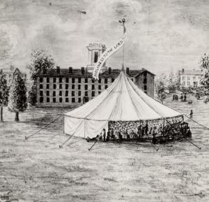 Charles Grandison Finney's Revival Tent
