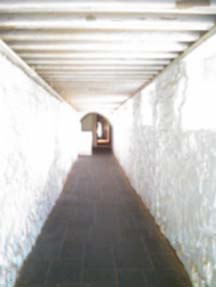 Montecello Basement Walkway