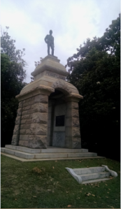 The Pennsylvania Monument at Andersonville.