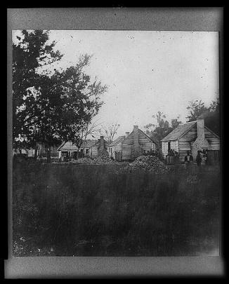 Slave Cabins, Port Royal