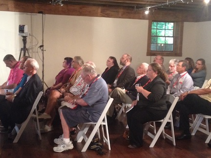 ECW had a full house for its second annual Civil War Symposium at Stevenson Ridge