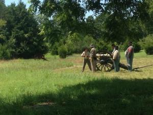 Living History Demonstration at Stones River National Battlefield photo cred: Claire Casey