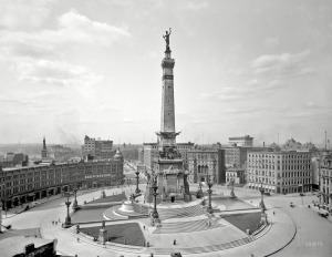 Indianapolis CW monument 1907