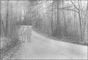 A famous photo of Gettysburg ghosts. . . or a still from Gods & Generals?