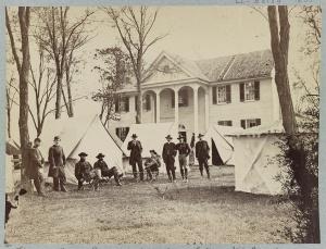 Wallach House, Maj. Gen. George Meade's Headquarters in Culpeper, VA Courtesy Library of Congress