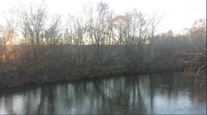 View from the Fauquier side of the river looking toward Kelly's Mill.