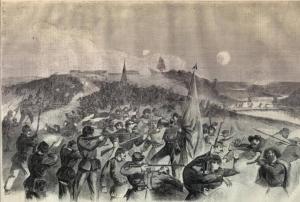 Emory Upton's assault at Rapphannock Station