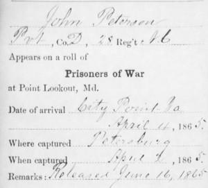John Peterson - Prison Record