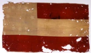 The Museum of the Confederacy now preserves the flag captured by Gibbs on April 6, 1865