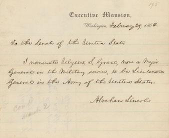 Grant Nomination letter