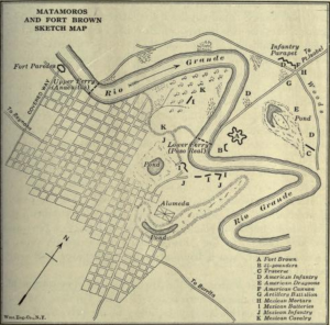 Fort Brown Map