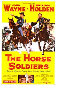 The Horse Soldiers Movie Poster