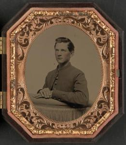 Unidentified Soldier in Union Uniform (Library of Congress)