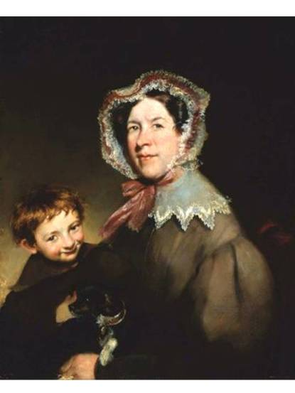 An American Mother and Son, c. 1840